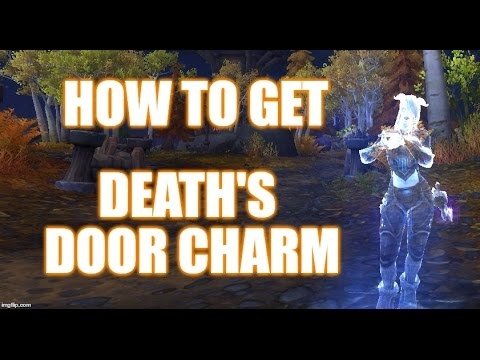 How To Get Deathu0027s Door Charm (Legion Toy)