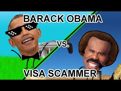 Barack Obama Pisses Off A Visa Gift Card Scammer! - The Hoax Hotel