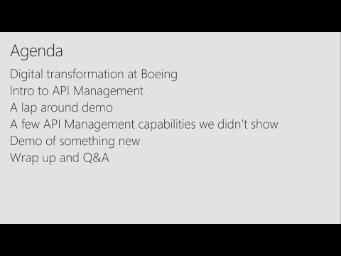 Azure API Management: Why, what, how, and what's next - BRK2186