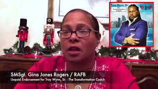 What our clients say ... Msgt  Gina Jones  Rogers