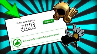 """""""JUNE 2019"""" ALL WORKING PROMO CODES IN ROBLOX!"""