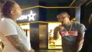 600 Breezy GOES OFF on King Yella for Pulling Up on Him at Chicago Mall!