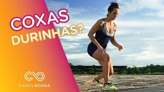 Exercícios para acabar com a gordurinha das coxas - Carol Borba