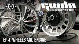 Концепт кастомайзинга будущего. Мотоцикл GUIDO. 04. Колеса и электромотор.