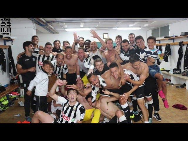 Así se vivió el derbi desde dentro. FC Cartagena - Real Murcia (2-1)