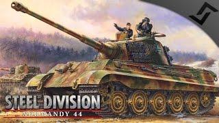 German 21st Panzer Battlegroup Review - Steel Division: Normandy 44 - Beta Gameplay
