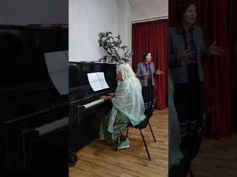 Ария Лауретты - Альбина Лукашевич, фортепиано Елена Леменкова.