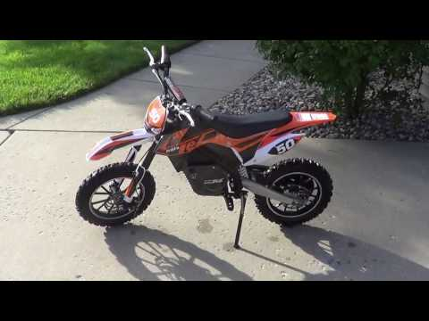 Mototec 24 Volt 500 Watt Electric Dirt Bike Review