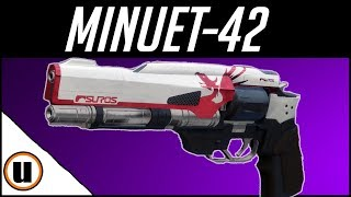 The Minuet 42 | Suros Legendary Hand cannon Gameplay Review | Destiny 2