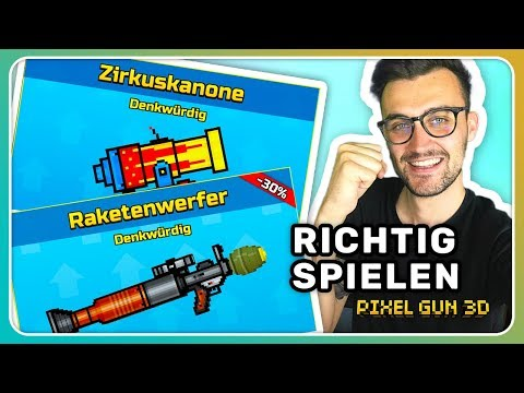 Langsame Waffen richtig spielen! Tipps & Tricks | Pixel Gun 3D [Deutsch]