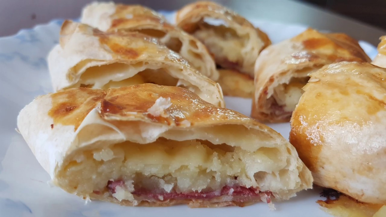 Pastırmalı Börek Hazır Yufkadan Videosu