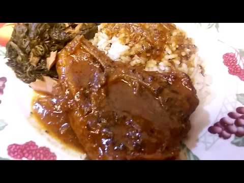 Smothered Pork Steak | Soul Food Cooking