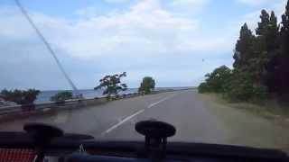 Едем на  такси  из   Судака  в Морское  Крым 8 июня 2014 года-2.