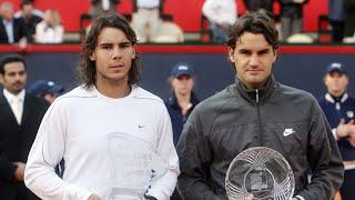 HAMBURG FINAL MASTERS SERIES TENNIS 2008 -  Federer v Nadal