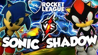 ABM:  Sonic vs Shadow !! Rocket Leagues Battle Gameplay Match !! HD