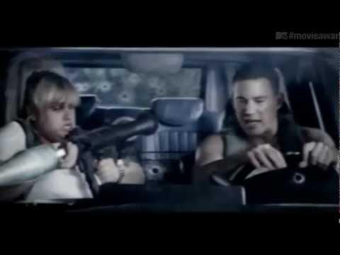 MTV Movie Awards 2013 -  Rebel Wilson And Channing Tatum's Dangerous Drive