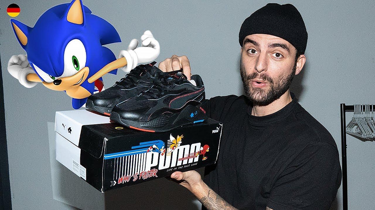 Puma X Sonic Rs X Der Sonic Sneaker Youtube
