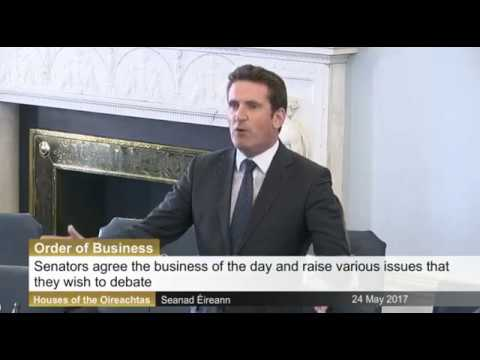 Seanad: Order of Business  - 24th May 2017