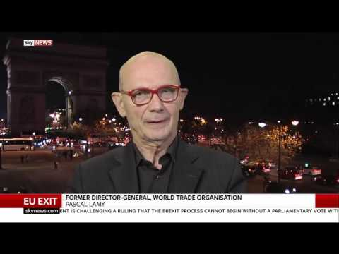 Pascal Lamy Says A 'Hard Brexit' Is Most Likely   EU Exit