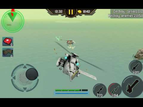 Gunship Strike Sea Defense