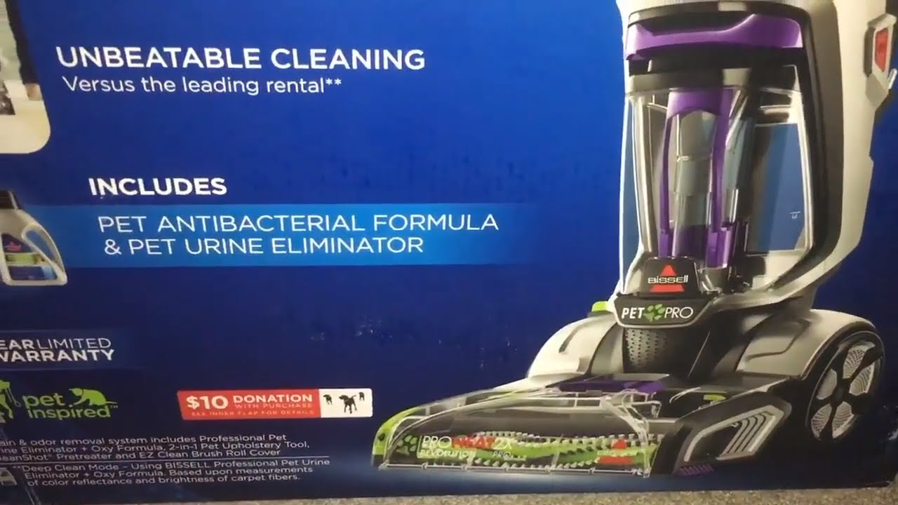 Bissell Proheat Pet Pro Carpet Cleaner How To Use Setup