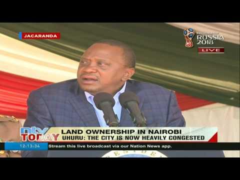 President Kenyatta talks tough on corruption that has crippled the economy