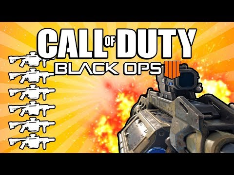 Quad Feed with Every Specialist! (Call of Duty: Black Ops 4)