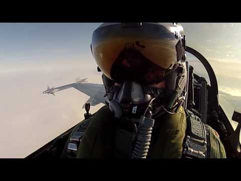 Danish Fighter Jet Pilot Takes the Ultimate 'Selfie'