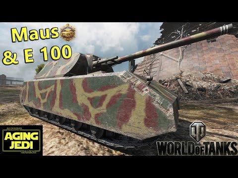 German Heavy Metal - Maus & E 100 - World of Tanks
