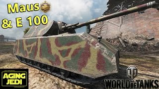 German Heavy Metal - Maus & E 100 - World of Tanks