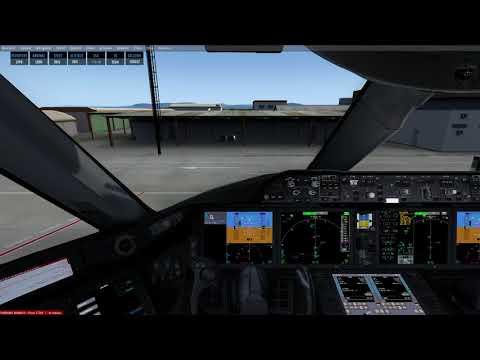 Prepar 3D V4.2 Boeing 787-800  LPFR to LDDU
