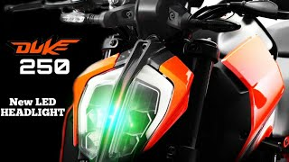 Finally KTM Duke 250 Bs6 LAUNCHED with Duke 390 Led Headlight Set-up | New Price ? |New Changes