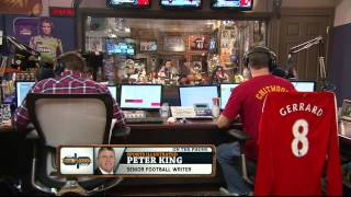 Peter King on the Dan Patrick Show 4/25/14