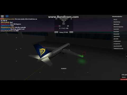 Ryanair , FULL FLIGHT , Luton - Dublin ( SAFETY VOICE ) ROBLOX