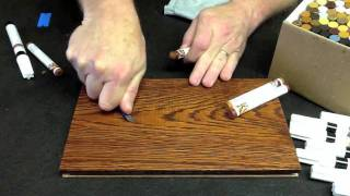 Fill Stick Repair Wood Graining By Finish Repair 2012.mp4
