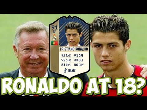 FIFA 17 SIMULATION - WHAT IF RONALDO WAS 18 AGAIN?