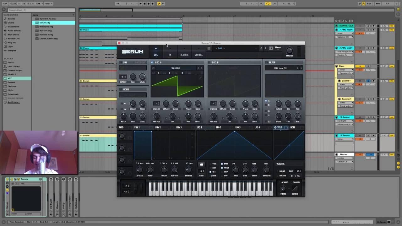 Serum Sound Design Tutorial - Calvin Harris