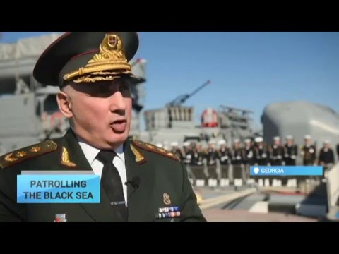 Patrolling the Black Sea: NATO and Georgia work closely on protecting the Black Sea region