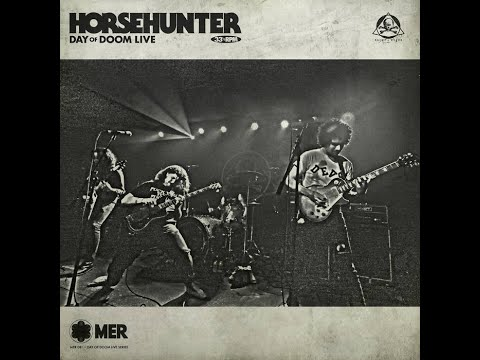 Magnetic Eye Records Artist - Horsehunter-  Day of Doom Live Video Review Out Now