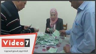 فرز لجان الجامعة العمالية بمدينة نصر عقب انتهاء ثانى أيام التصويت