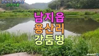 남지읍 용산리 붕어낚시