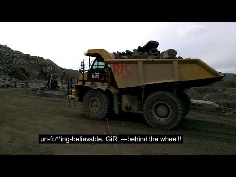 Norway. port Rekefjord. Tour of the stone pit. Cargo ship. Life at sea. Норвегия. Каменоломня. Обзор