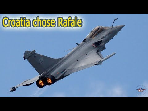 Download Croatia chose Rafale, Here's is the Reaction from America, Sweden, and Israel
