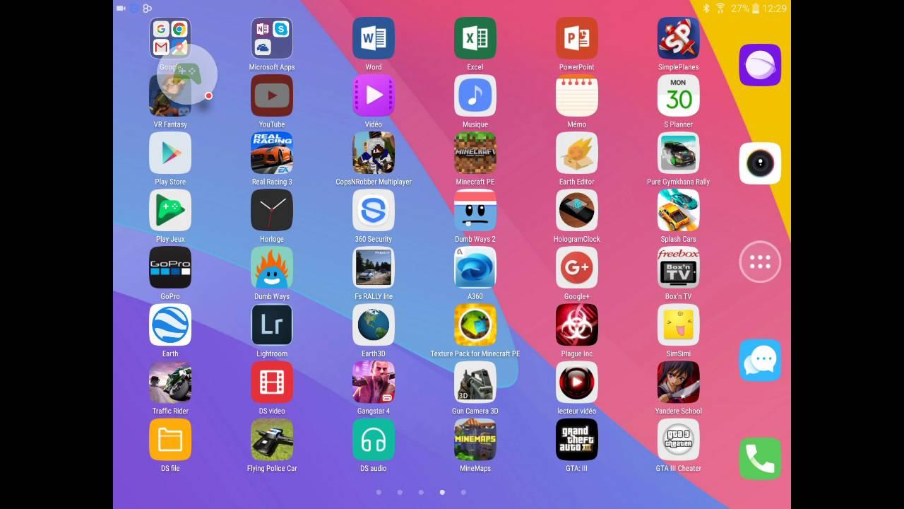 jeux de tablette android