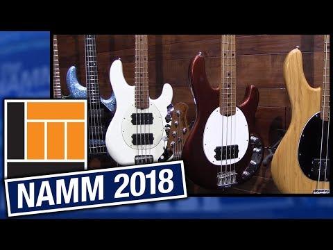 L&M @ NAMM 2018: Ernie Ball Music Man Stingray Basses