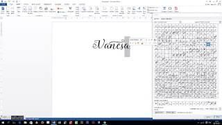 access lovely melissa opentype glyph in ms word