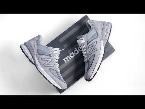 How New Balance Perfected the SNEAKER   New Balance 990V5 ON FEET REVIEW