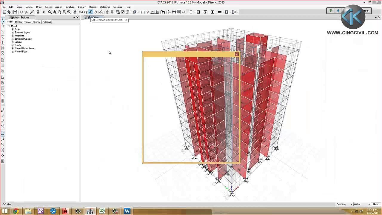 Detallado De Vigas Y Columnas De Concreto Armado Y Su Aplicación Al Etabs Y Sap2000 Youtube