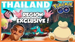 THAILAND VLOG! REGION EXCLUSIVE + RARE 100IV HATCH! - Pokemon Go