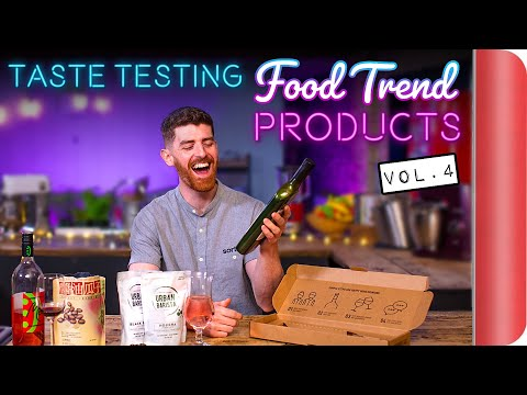 Taste Testing the Latest Food Trend Products Vol. 4